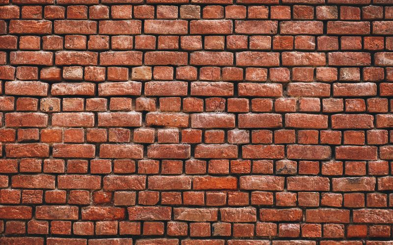 Dokku static website represented by a brick wall