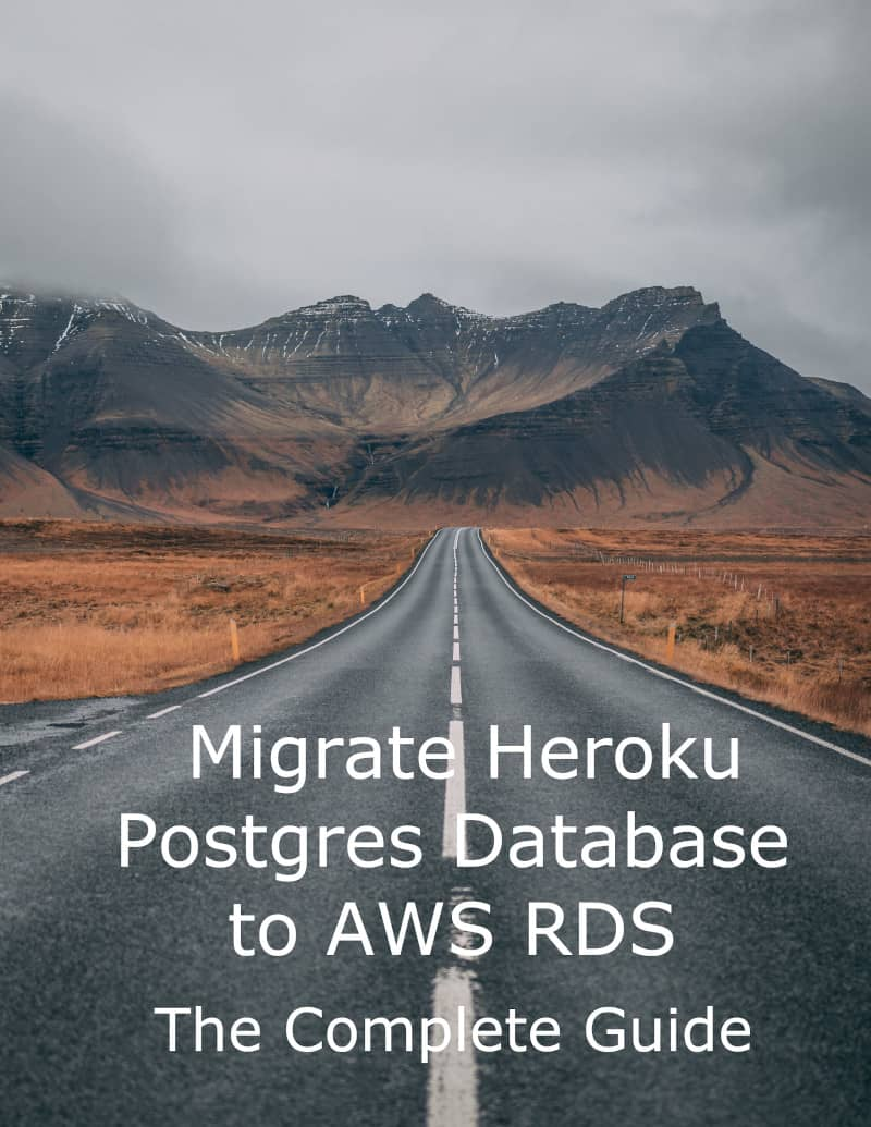 Heroku migartion to RDS eBook cover
